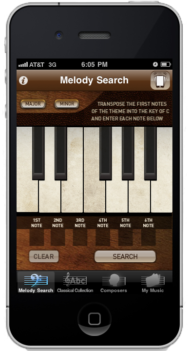 Open melody search